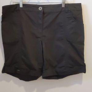 Addition Elle black cotton shorts sz 16